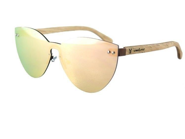 Drewniane okulary przeciwsłoneczne Gary Sky